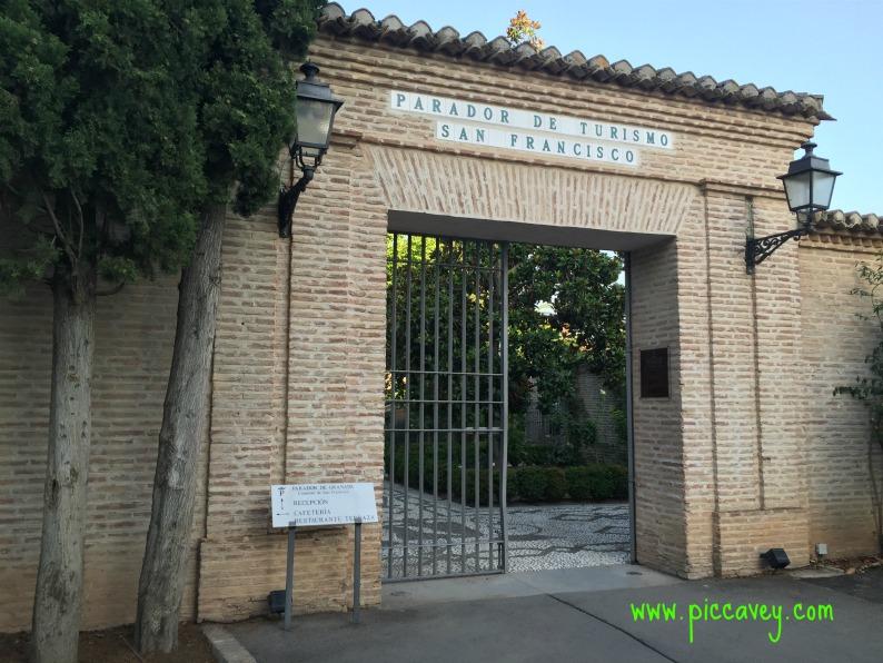 Parador de Granada Spain by piccavey
