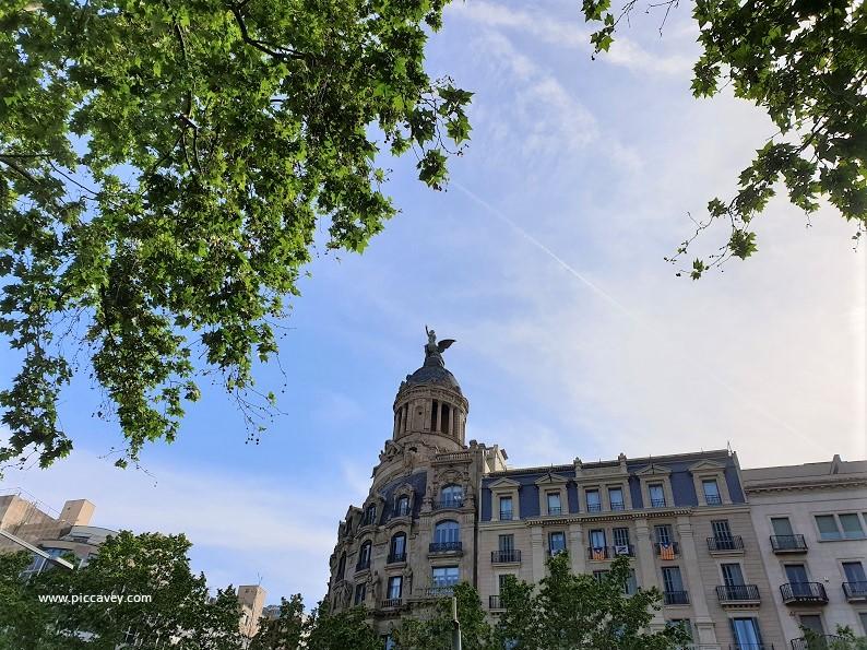 Paseo de Gracia Barcelona luxury