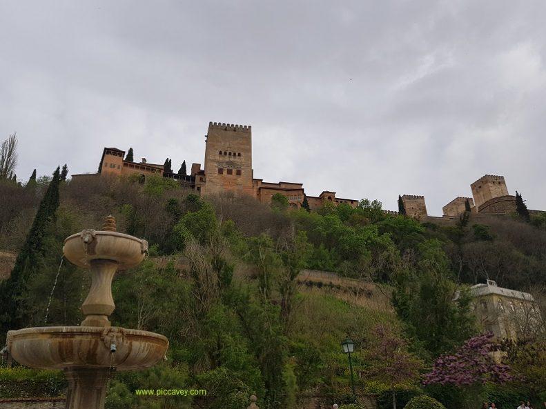 Paseo de los Tristes Granada Spain Carrera del Darro Hotel Reuma