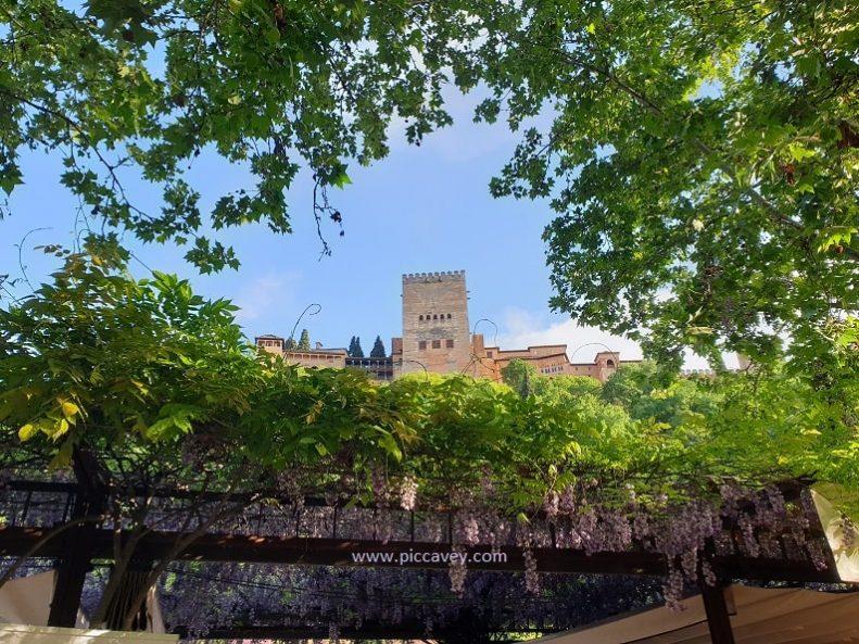 Paseo de los tristes Alhambra Albaicin