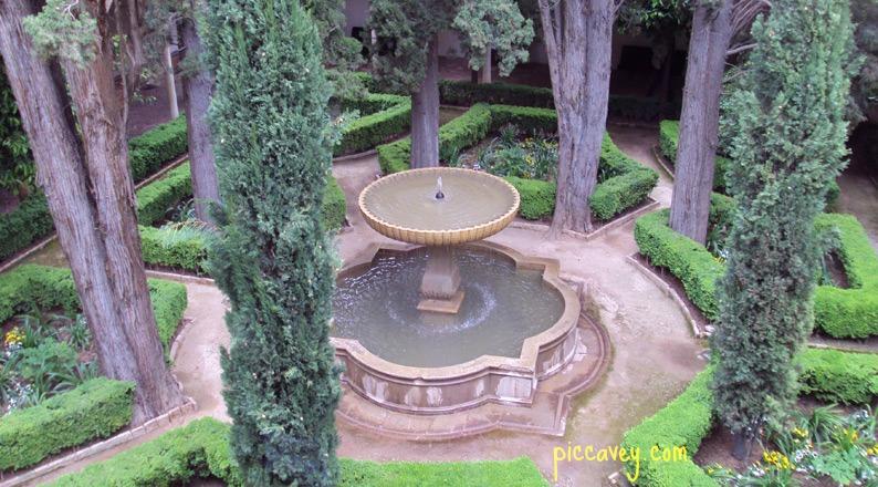 Patio de Lindaraja, Alhambra Palace