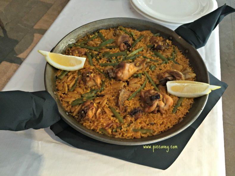 Paella at Los Patos Granada