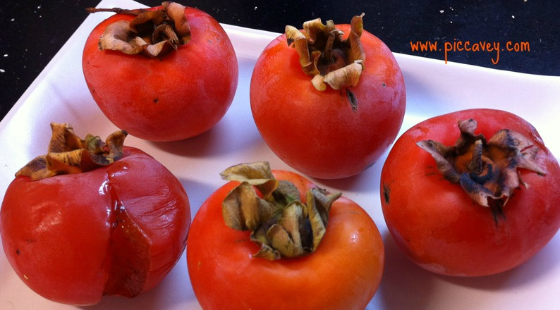 Persimmon or Caqui Spanish Fruit