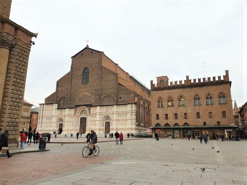 Piazza Maggiore Bologna Italy