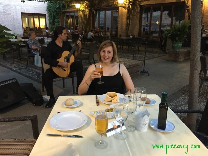 Piccavey at Parador Granada