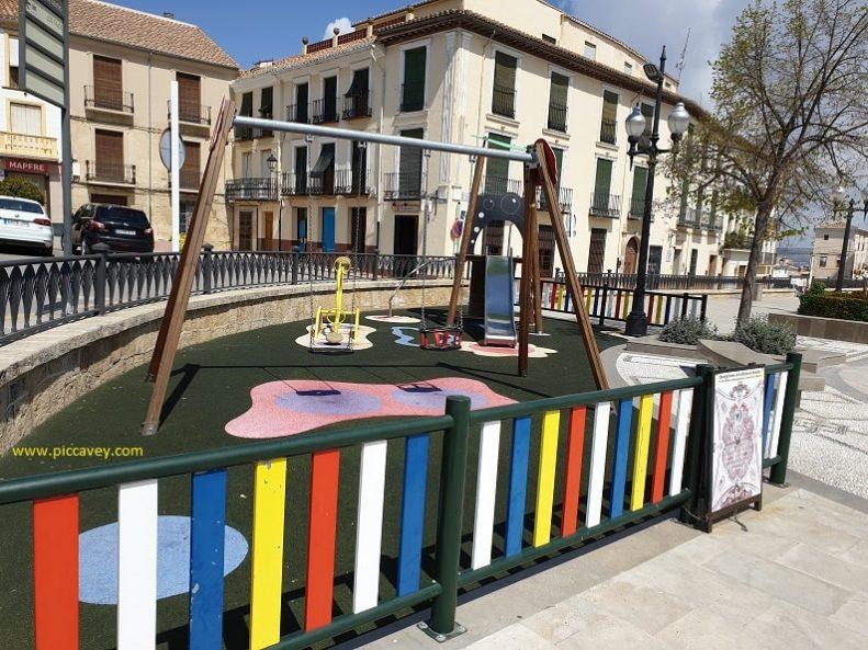 Playground in Spain Travel with Children in Granada