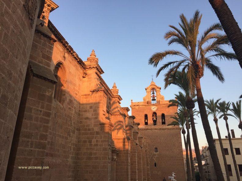 Plaza Catedral Almeria Spain