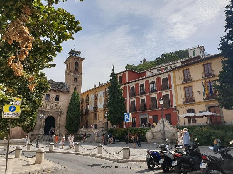 Plaza Nueva Granada Spain blog