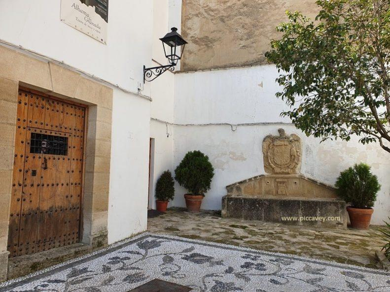 Plaza Presos Alhama de Granada Andalucia