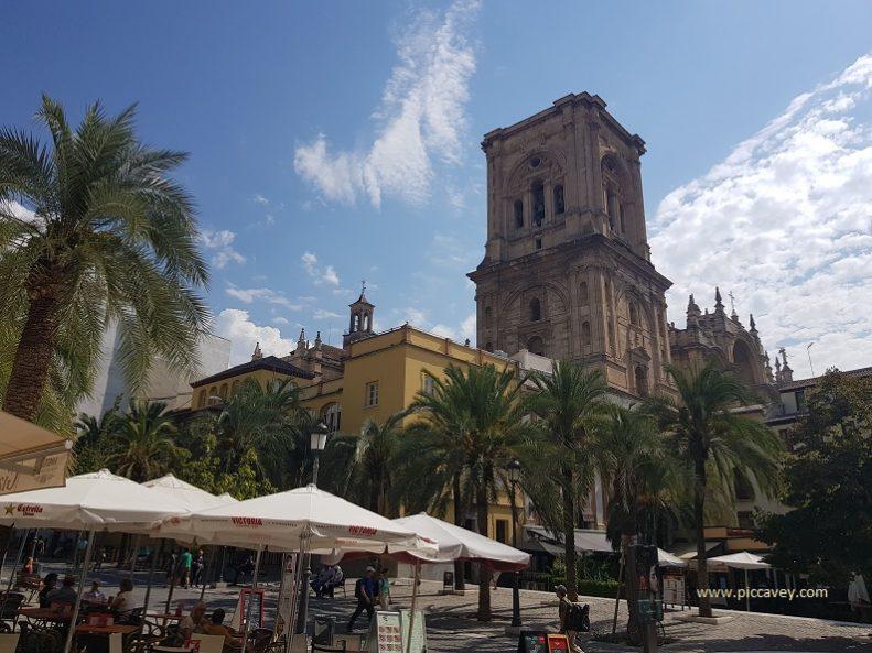 Plaza Romanilla Granada Cathedral Spain