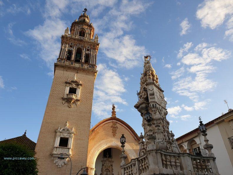 Plaza Santa Maria Ecija Sevilla