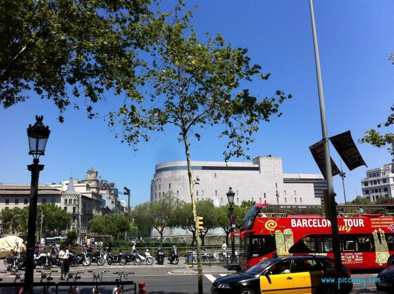 Plaza de Cataluna Barcelona Spain