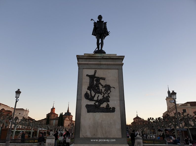 plaza Cervantes Alcala de Henares Spain blog