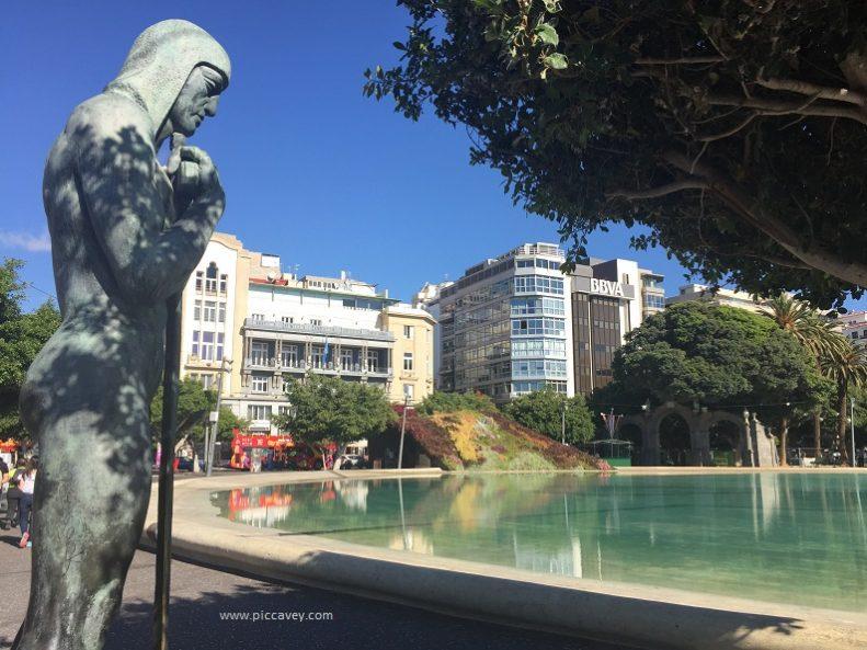 Plaza de España Santa Cruz