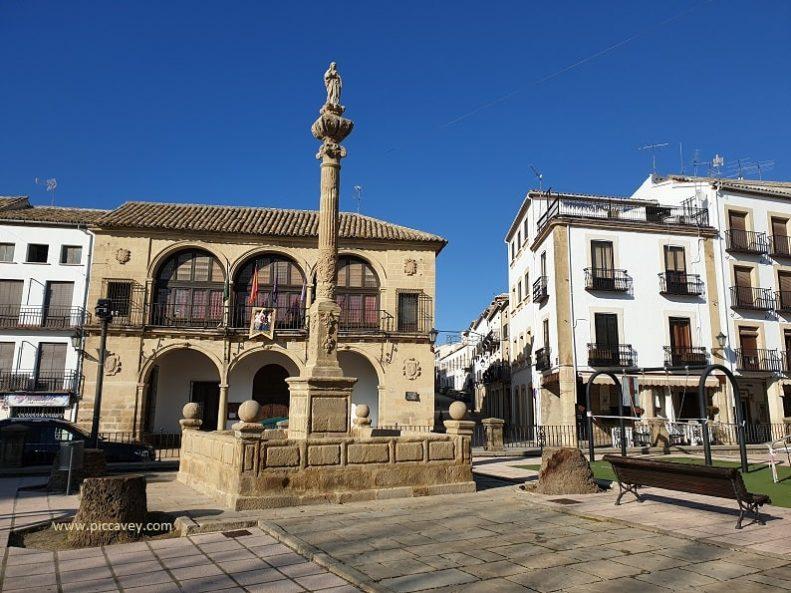 Plaza de la Constitucion Baeza Spain