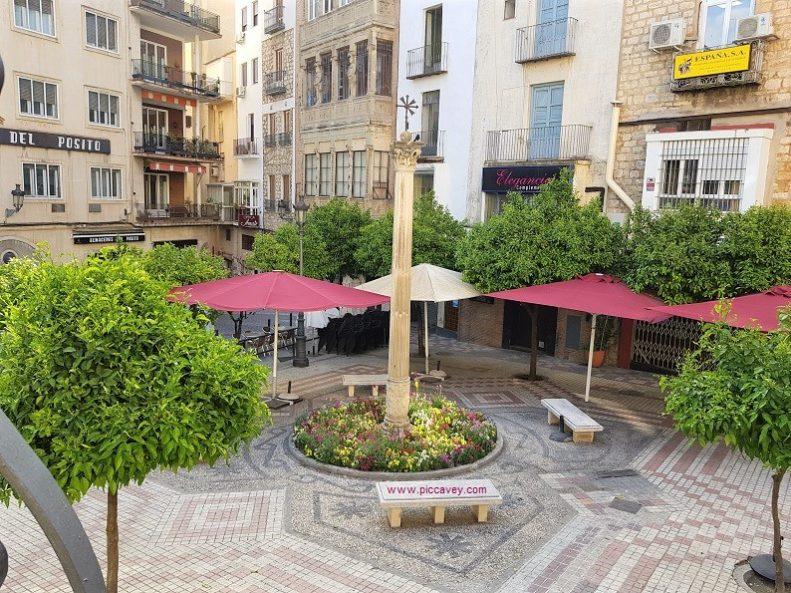 Plaza del Posito Jaen Spain