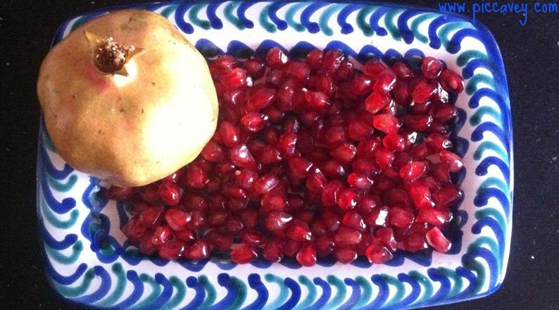 Pomegranate in Granada Spanish Fruit