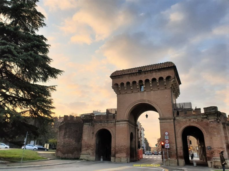 Porta Saragozza Bologna Italy