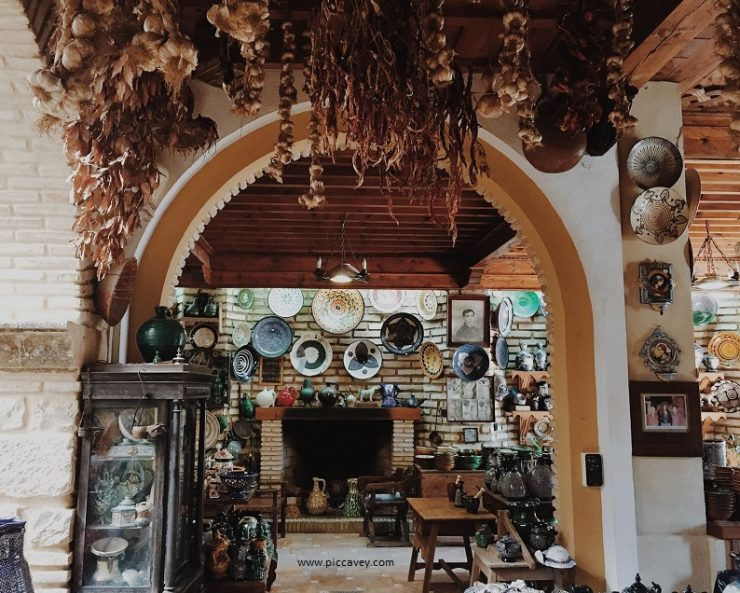 Pottery in Ubeda Spain