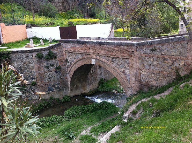 Puente Chirimias Paseo de los Tristes Granada Spain Albaicin