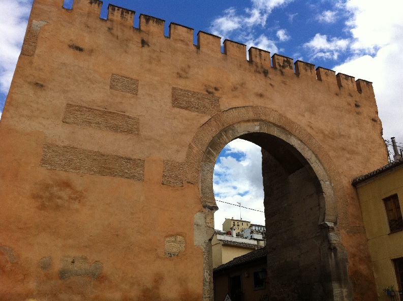 Puerta Elvira History of Granada Spain