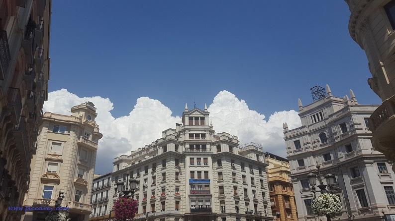 Puerta Real Granada City Spain