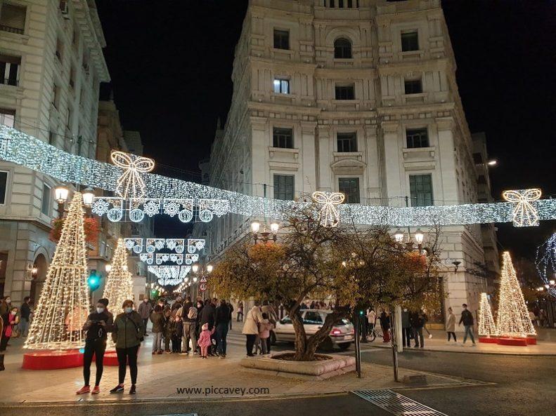 Puerta Real Granada Spain Dec 2020