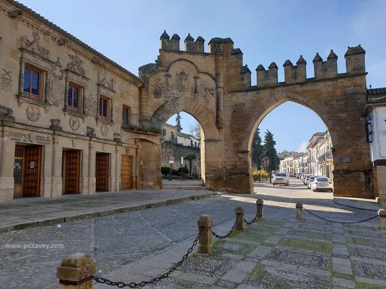Puerta de Granada Baeza Jaen