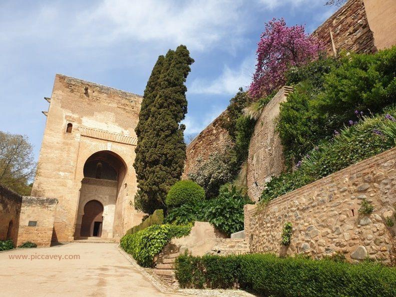 Puerta de la Justicia Entrance to Alahambra Palace Spain