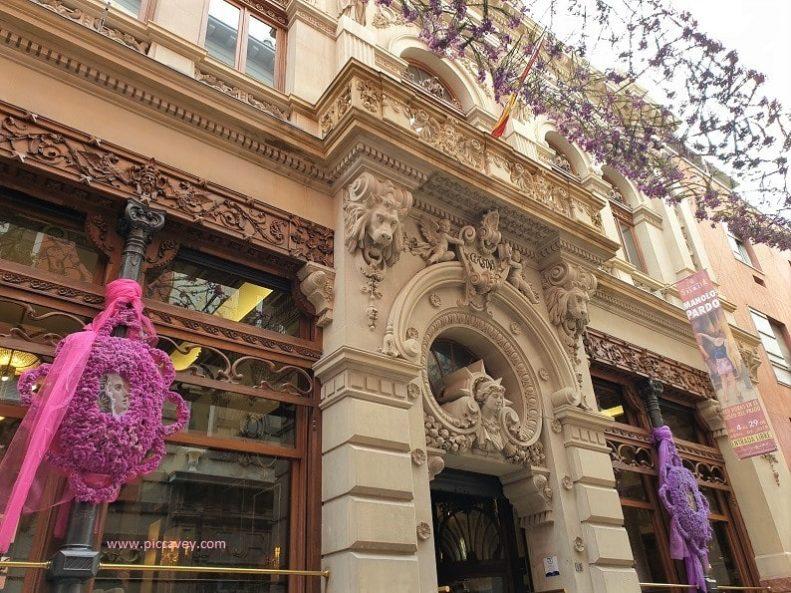 Real Casino de Murcia façade