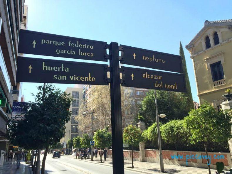 Calle Recogidas Rentals Granada Spain