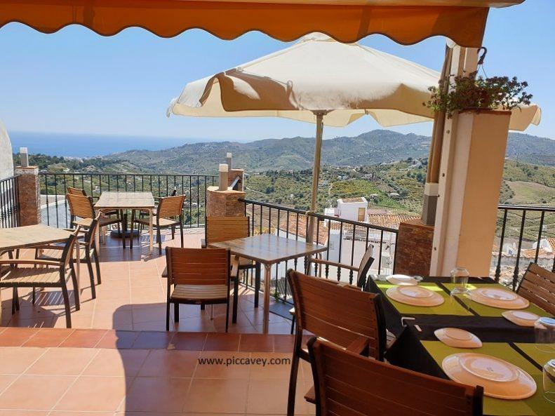 Restaurante Adarve Frigiliana Malaga