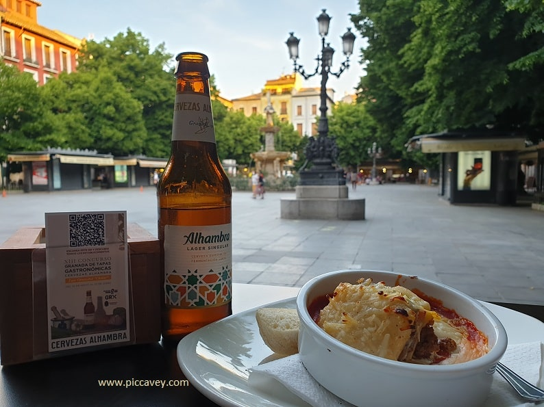 Restaurante Gallio Plaza Bib Rambla Granada tapas