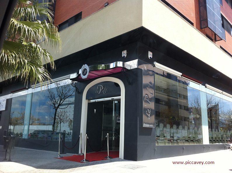 Restaurante Platea Forum Granada Spain