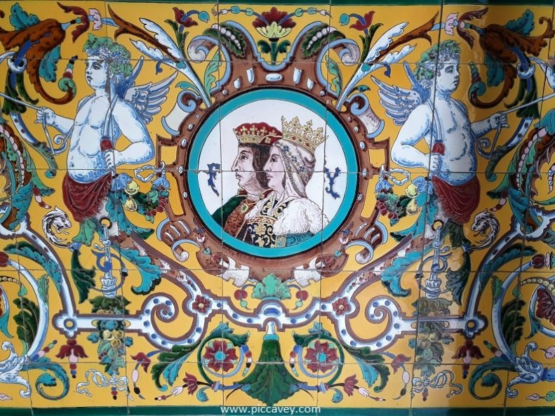Reyes Catolicos Ceramic Design Queen Isabel of Castille