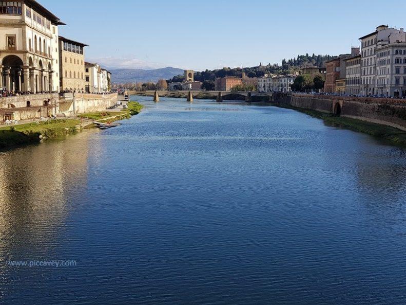 River Arno Florence Italy Travel Europe Plan