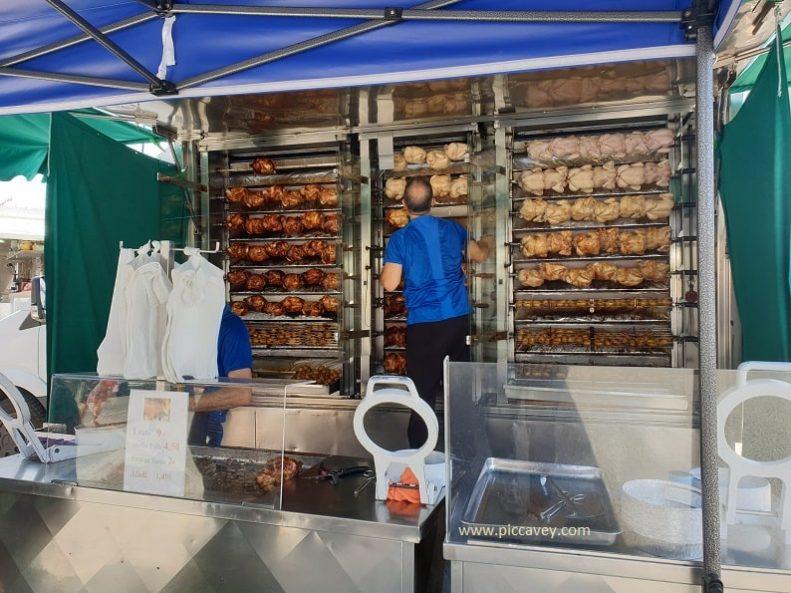 Roast Chicken at El Campello Food Market