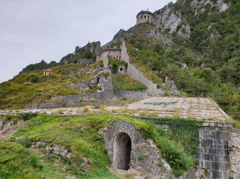 Rocca di Anfo Lake Idro Lombardy