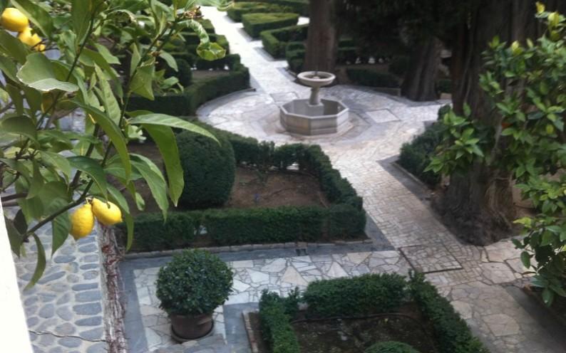 Carmen Fundación Rodriguez Acosta Gardens in Granada