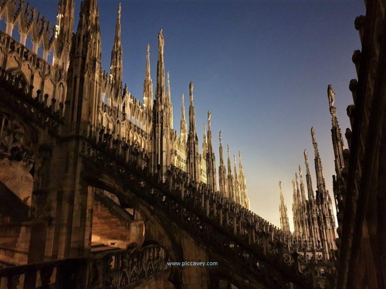 Rooftop of Duomo Milan