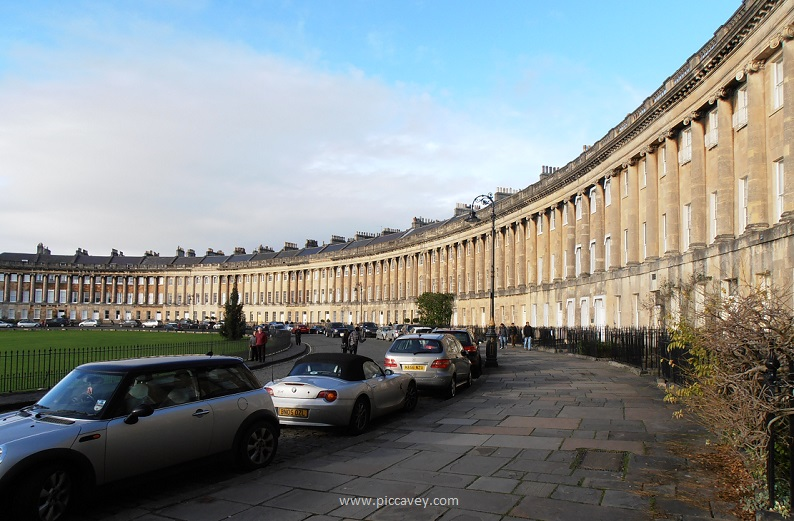 Royal Crescent Bath UK