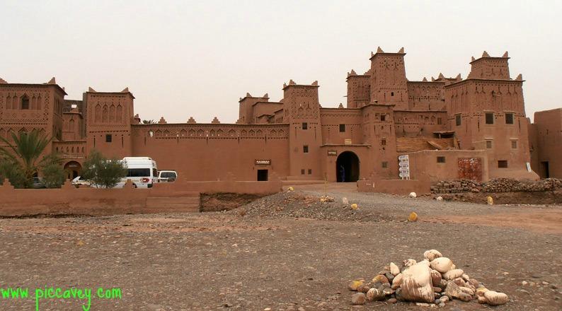 Route of Kasbah in Skoura Morocco