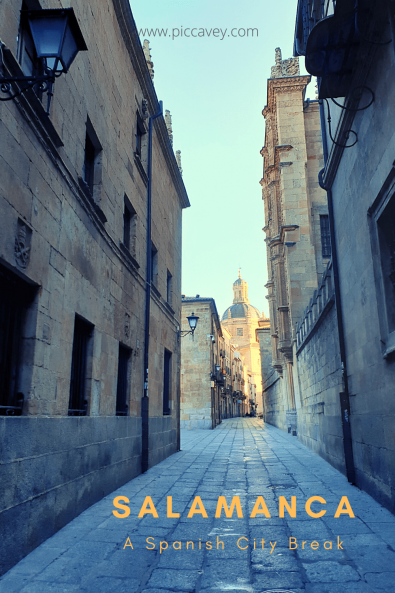Street in Salamanca Spain