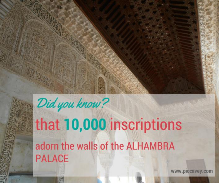 Granada Alhambra Walls