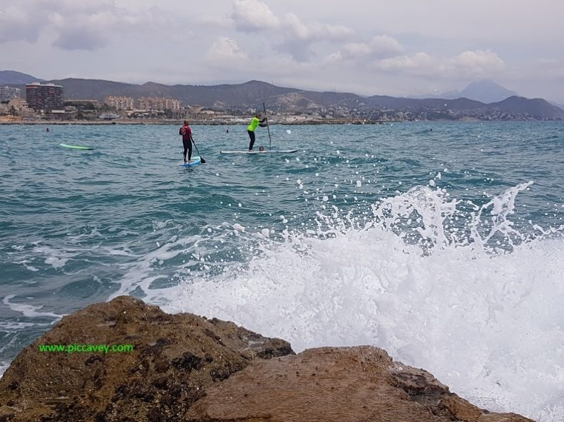 SUP Surf Lessons in El Campello