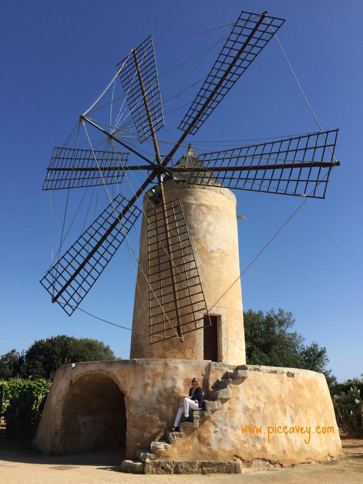 SaTorre Windmill in Mallorca