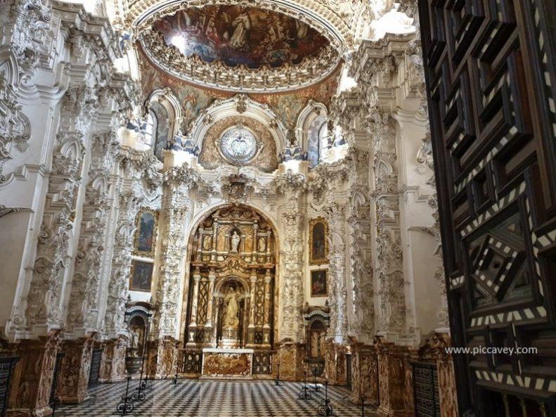 Sacristy Cartuja Monastery