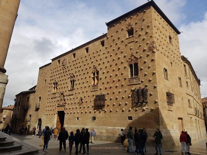 Salamanca Casa de las Conchas Shells