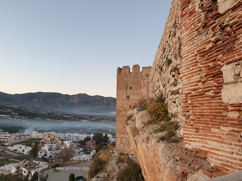 Salobreña Castle Andalucia Spain by piccavey