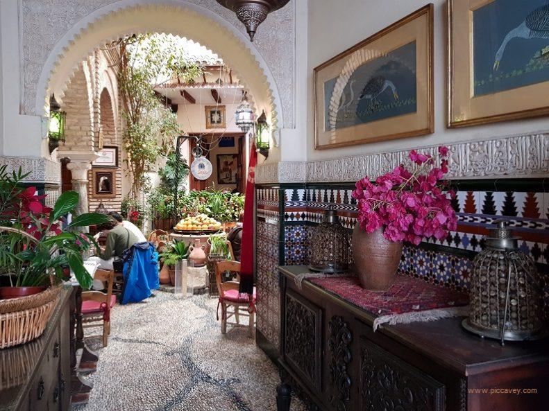 Salon de Te Cordoba Spain Tea